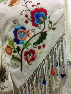 Items similar to French Linen Hand Embroidered Tablecloth Mexican Embroidery, Hungarian Embroidery, Floral Embroidery Patterns, Learn Embroidery, Hand Embroidery Designs, Ribbon Embroidery, Embroidery Art, Cross Stitch Embroidery, Machine Embroidery