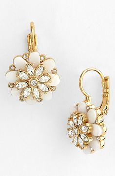 kate spade new york 'bungalow bouquet' drop earrings | Nordstrom
