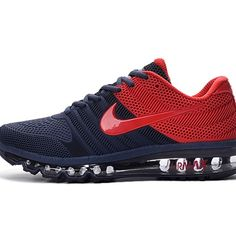 Nike Air Max 2017 Dark Blue Red Men Shoes                                                                                                                                                                                 More