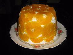 Túrós narancstorta
