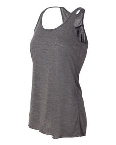 YogaColors Womens Emoticon Flowy Scoop Neck Tank Top - women's fashion / apparel / clothing