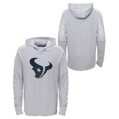 Activewear Sweatshirt NFL Houston Texans Team Color XS, Boy's
