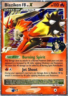Pokemon Cards | Pokemon Card of the Day: Blaziken FB Lv. X (Supreme Victors ...