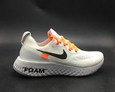 4eda5bdfafc5c Authentic Off-White x Nike Epic React Flyknit White - Mysecretshoes