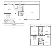 sandstone home plan multi level two story home built on your lot - Multi Level Home Plans