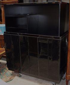 Unique Black Mirrored Electric TV/Entertainment Lift Cabinet https://qdiz.com/?p=2834