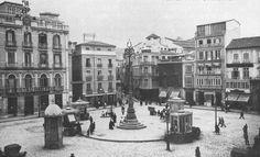Plaza de la Constitución años 20 (Málaga)