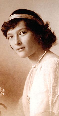 Grand Duchess Tatiana Romanov. She was better known than her three sisters during her lifetime and headed Red Cross committees during World War I. Like her older sister Grand Duchess Olga Nikolaevna of Russia, she nursed wounded soldiers in a military hospital from 1914 to 1917, until the family was arrested following the first Russian Revolution of 1917.