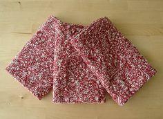 Knitting PATTERN three geometric kitchen towels