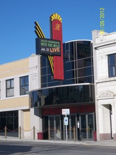 The Renaissance Theatre in Downtown Mansfield, Ohio