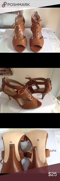 STYLE & CO.SANDAL HEELS STYLE & CO. SANDAL HEELS, NEW Style & Co Shoes Heels