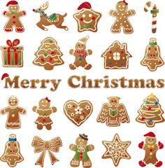 INSTANT DOWNLOAD Digital Clip Art Gingerbread House Man Woman Candy Cookies Christmas Design elements Craft Supply Commercial Use