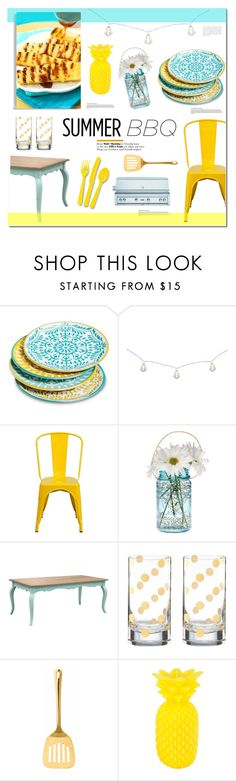 """Summer Barbeque"" by anonymous1612 ❤ liked on Polyvore featuring interior, interiors, interior design, home, home decor, interior decorating, Mudhut, Room Essentials, Flash Furniture and Cultural Intrigue"