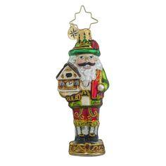 Christopher Radko Bavarian Cracker Little Gem Nutcracker Christmas Ornament
