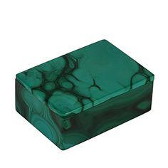 Rectangle Malachite Box