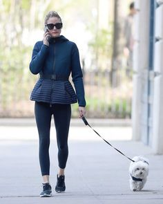 The Olivia Palermo Lookbook : Olivia Palermo Walks Her Dog Out In New York