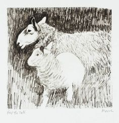 Henry Moore OM, CH 'Sheep and Lamb', 1974 © The Henry Moore Foundation, All…