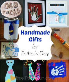 Handmade Gifts for Father's Day by Kids, Father's Day Crafts