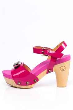 Flogg Official Site | Fantastic Patent Leather Magenta