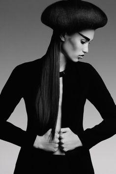 Editorial: Black Soul Model: Natalia |Myskena| Makeup: Anna Oronowicz Stylist`s Assistant: Dominika Ozimek Stylist: Daniel Gryszke Hair Stylist: Daniel Gryszke Photographer: Marta Macha0)