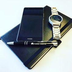 Huawei P9 Plus + Huawei Watch  #staff #stuff