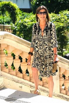Princess Caroline of Hanover arrives at the exhibition 'Portraits d'Interieurs' held at the Villa Sauber in Monaco, 08 July 2014
