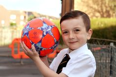 Schoolboy Bailey to be mascot Champions League semi-final...: Schoolboy Bailey to be mascot Champions League semi-final… #ChampionsLeague