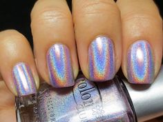 Holographic Nail Polish,love this!