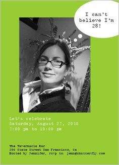 Thought Bubble Lime 5x7 Photo Card by Shutterfly