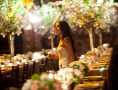 Fleurs NYC tablescape, dreamy! At the Bowery Hotel, photo by Roey Yohai