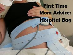 First Time Mom Advice: What to pack in the Hospital bag #pregnancy #baby #maternity| spotofteadesigns.com