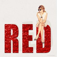 RED~Taylor Swift I never get tired of it! Red Taylor, Taylor Alison Swift, Pennsylvania, Loving Him Was Red, My Favorite Color, My Favorite Things, Red Tour, Shades Of Red, 50 Shades