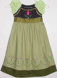 Custom Handmade Young Anna Inspired Dress  by NanasSewingCloset, $35.00