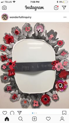 Remembrance Day Activities, Veterans Day Activities, Remembrance Day Poppy, Poppy Craft For Kids, Crafts For Kids, Veterans Day Coloring Page, Veterans Day Celebration, American Flag Crafts, Poppy Wreath