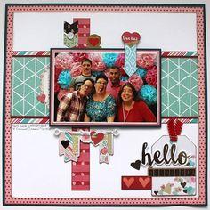 My Creative Scrapbook February Main Kit We R Memory Keepers Scrapbooking