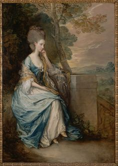 The Athenaeum - Portrait of Anne, Countess of Chesterfield (Thomas Gainsborough - No dates listed)