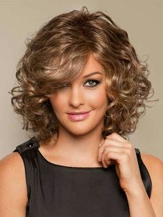 Curly Short Hairstyles 2014 2015 Short Hairstyles 2017 60 Most Magnetizing Hairstyles for Thick Wavy Hair curly medium hair styles Medium. Curly Hair Cuts, Short Curly Hair, Wavy Hair, Curly Hair Styles, Natural Hair Styles, Curly Bob, Curly Wigs, Short Wigs, Thick Hair
