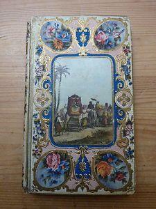 Antique 19th Century French Papier Cartonnage Book