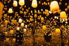 teamLab's latest digitally-immersive installation forms a glowing wonderland at…