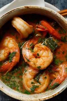 Mario Batali's Spicy Shrimp Sauté by nytimes #Shrimp #Spicy