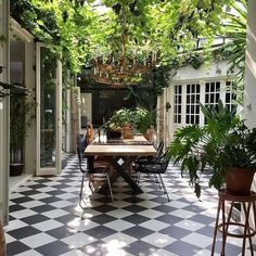 33 Admirable Modern Patio Design Ideas You Never Seen Before - A patio is just one element of a garden design, but it is one of the most expensive parts of any garden build. Because the patio fulfills several diff. Backyard Vegetable Gardens, Vegetable Garden Design, Exterior Design, Interior And Exterior, Patio Design, Interior Garden, Pergola Designs, Interior Modern, Green Kitchen Interior