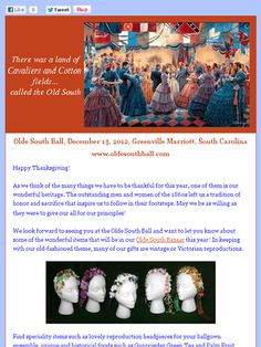 049c10de46 Black Friday registration sale for the Olde South Ball!