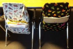 Classroom Chair Pocket or Seat Sack Directions at Fern Smith's Classroom Ideas!
