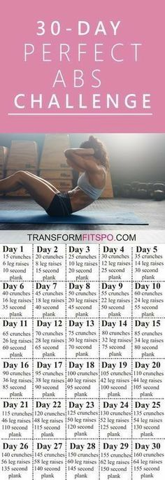 30 Day Abs Challenge Workout | Posted By: NewHowToLoseBellyFat.com