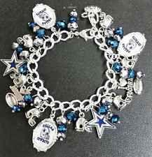 Dallas Cowboys Charm Bracelet Handmade By Toshie