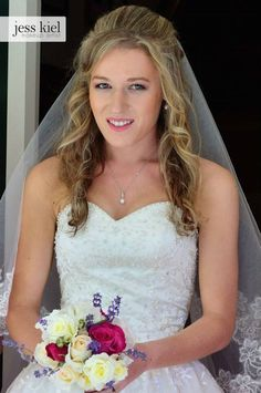 Beautiful wedding makeup! (before and after) by Jess Kiel Makeup | www.facebook.com/makeupbyjess