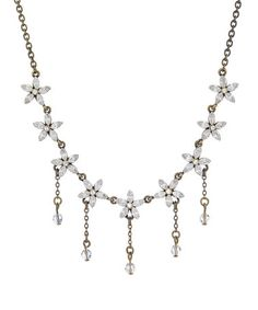 Another great find on #zulily! Silver Antiqued Elegance Necklace With Crystals from SWAROVSKI by Annaleece #zulilyfinds