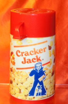 VINTAGE CRACKER JACK THERMOS ONLY FOR LUNCH BOX #Unbranded