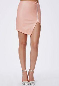 Plus Size Wet Look Skater Skirt - Plus Size Skirts - Women's Plus ...
