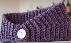 How to Crochet a headband for winter « Knitting & Crochet